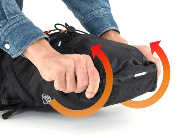 バイクパッキングバッグ 取り付け