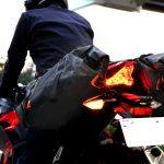 バイク用サイドバッグの装着方法「ツボのつぼ」